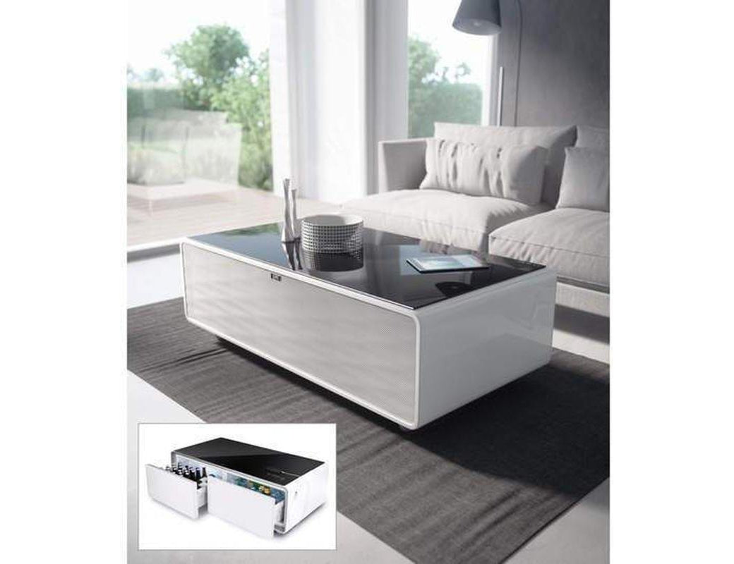 Caso Sound & Cool - Combination of Soundbar, Beverage Cooler and Lounge Table - Expert Wine Storage