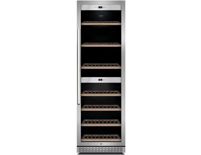 CASO WineChef Pro 180 - Freestanding Dual Zone Wine Cooler / Wine Fridge - 180 Bottle - 595mm Wide - Expert Wine Storage