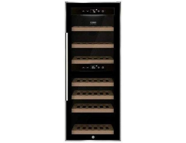 CASO WineComfort Touch 38 - Dual Zone Freestanding - 38 Bottles - 400mm Wide