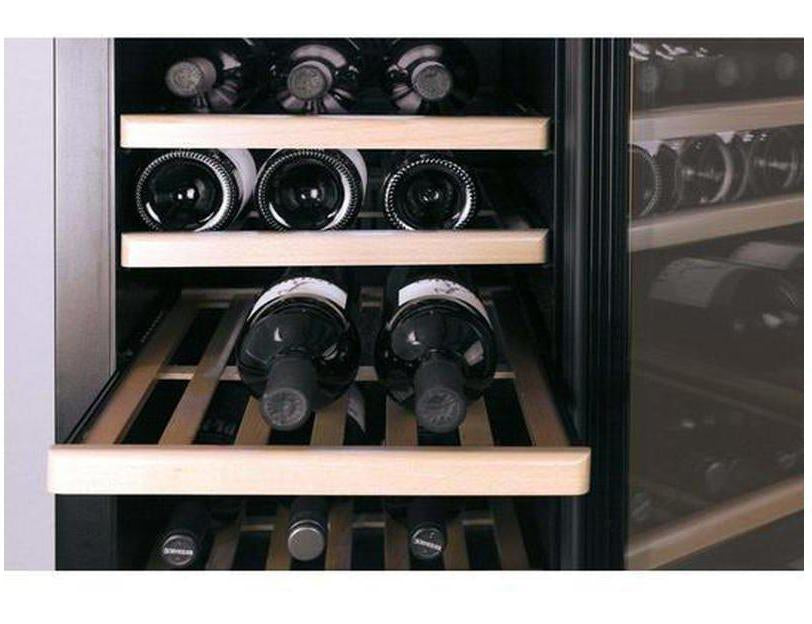 CASO WineSafe 137 - Freestanding Single Zone Wine Cooler / Wine Fridge - 137 Bottle - 595mm Wide - Expert Wine Storage