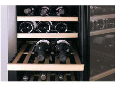 CASO WineSafe 75 - Freestanding Single Zone Wine Cooler / Wine Fridge - 75 Bottles - 595mm Wide - Expert Wine Storage