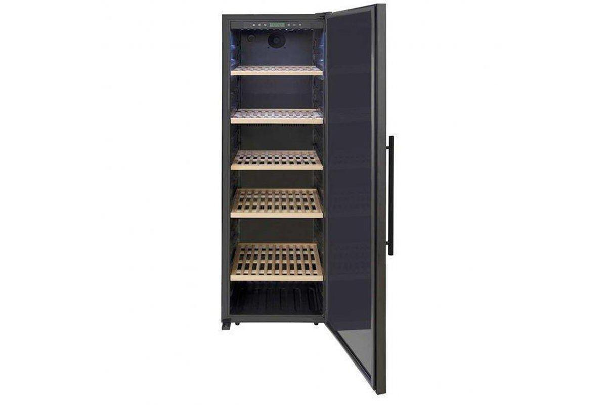 Cave Cool Passion Mica Wine Fridge - 248 Bottles - Single Zone Wine Cooler - Black - Expert Wine Storage