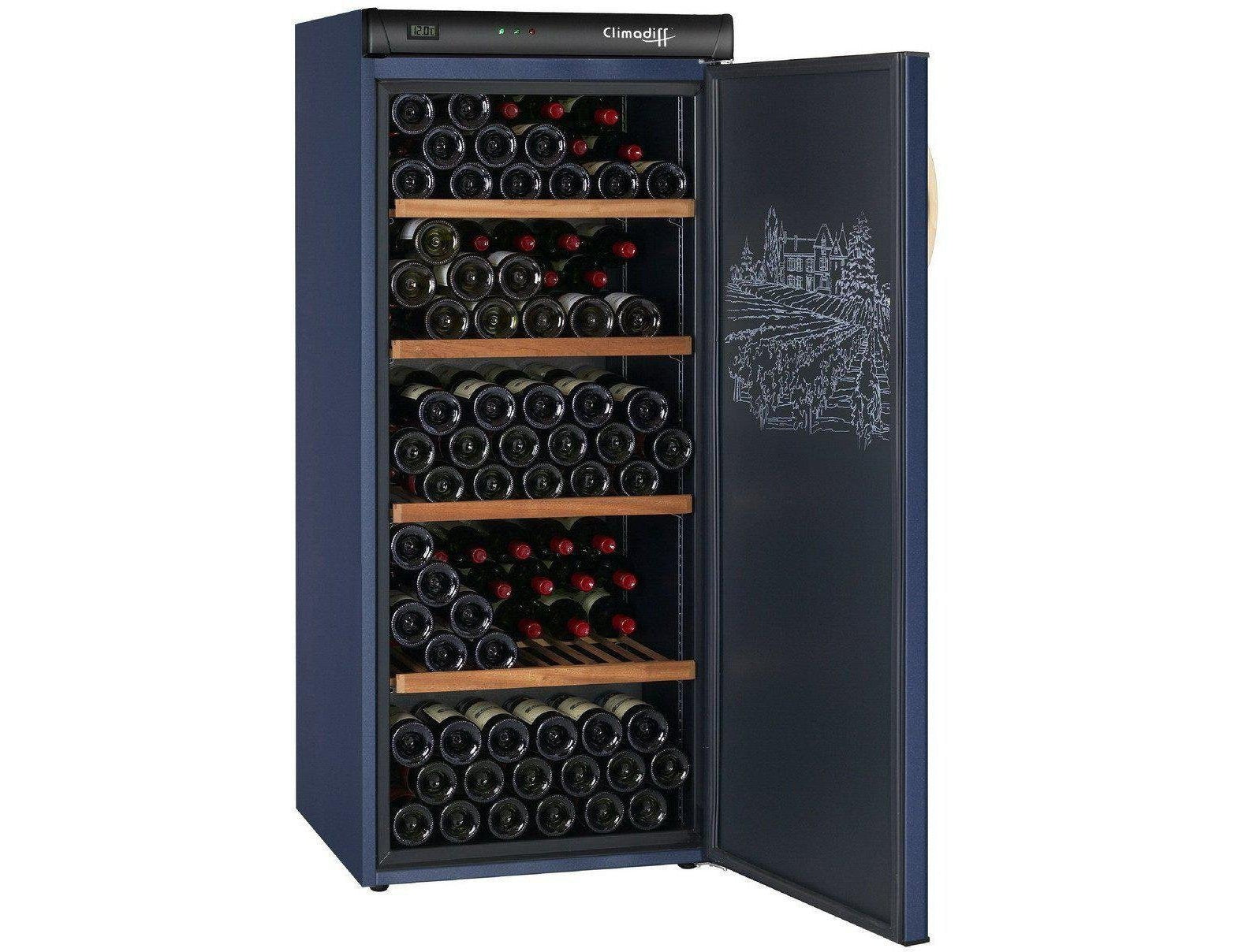 Climadiff CVP180 - Single Zone - Ageing - 180 Bottles - 620mm Wide-Expert Wine Storage