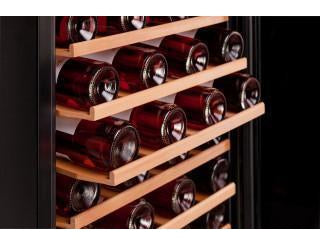 Dunavox DXFH-48.130 - Dual Zone - 48 Bottles - Freestanding - 550mm Wide