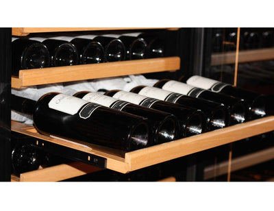 Swisscave WLB450F - Single Zone - Built In or Freestanding - 178 to 210 Bottles - 600mm Wide