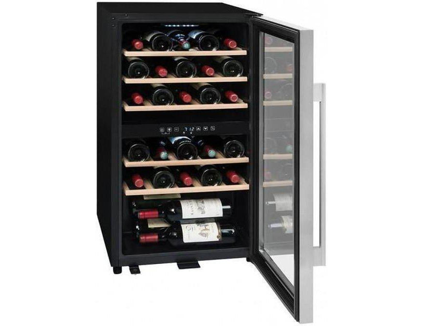 La Sommelière - ECS30.2Z - Wine Fridge - Dual Zone Built In Wine Cooler - 29 Bottles - 480mm Wide + Free Corkscrew - Expert Wine Storage