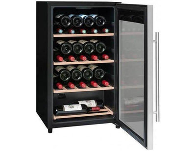 La Sommelière - LS36A - Wine Fridge - 36 Bottles - Single Zone Wine Cooler - 480mm Wide + Free Corkscrew - Expert Wine Storage
