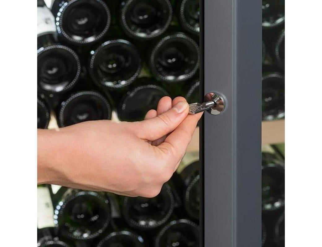 La Sommelière - VIP330V - Wine Fridge - Multizone Wine Cooler 329 Bottles + Free Corkscrew - Expert Wine Storage