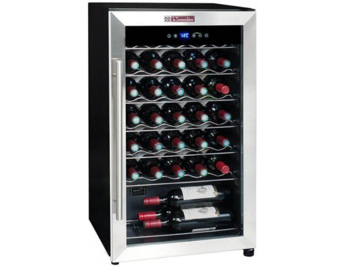 La Sommelière LS34A - Single Zone - 34 Bottles - Freestanding - 480mm Wide-Expert Wine Storage