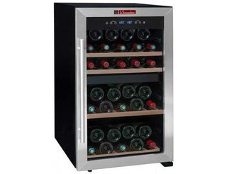 La Sommelière LS50.2Z - Dual Zone - 50 Bottles - Freestanding - 480mm Wide
