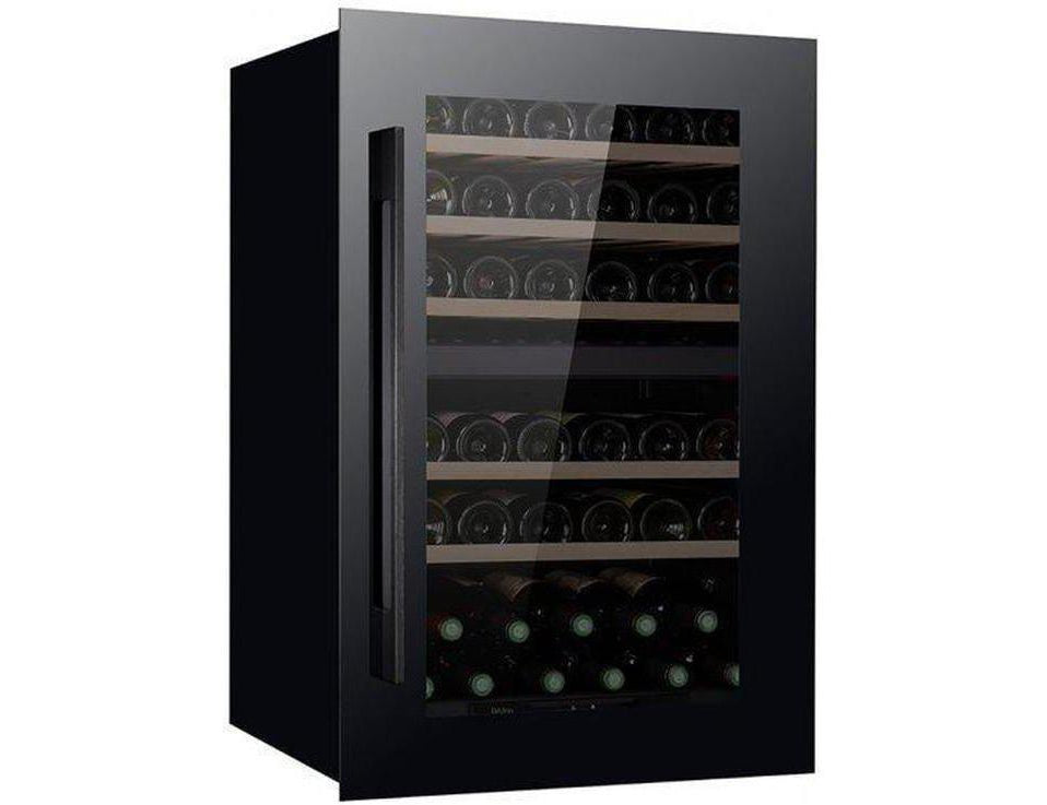 Pevino PI48D-B - Wine Fridge - 48 bottle - Dual zone integrated wine cooler - 555mm Wide + free corkscrew - Expert Wine Storage