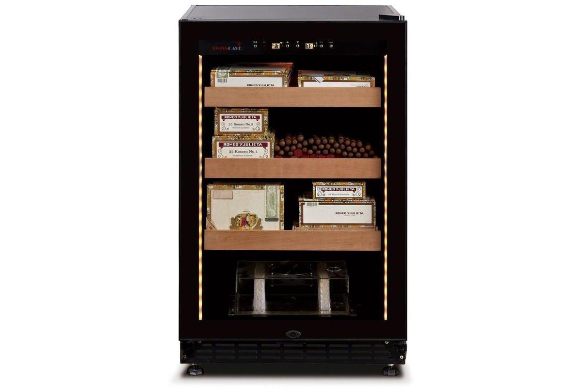 Swisscave Humidor CLB-188 for 600 Cigars - 600mm Wide - Expert Wine Storage