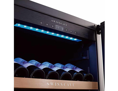 Swisscave WL355DF - Dual Zone - Built In - 112 to 135 Bottles - 595mm Wide (NEW)