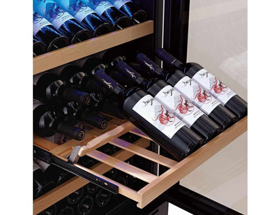 Swisscave WL455DF - Dual Zone - Built In or Freestanding - 166 to 200 Bottles - 595mm Wide (NEW)