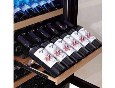 Swisscave WL455DF - Dual Zone - Built In - 166 to 200 Bottles - 595mm Wide (NEW)