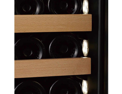 Swisscave WLB460F - Single Zone - Built In or Freestanding - 180 to 210 Bottles - 595 Wide