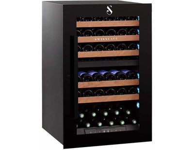 Swisscave WLI-160DF - Dual Zone - 42 Bottles - Integrated - 592mm Wide (NEW)