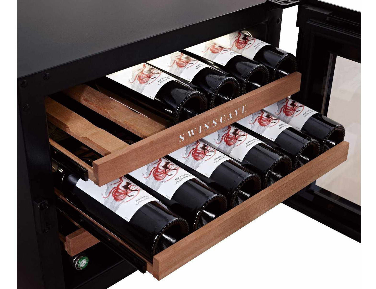 Swisscave WLI-60F - Single Zone - 24 Bottles - Integrated - 592mm Wide