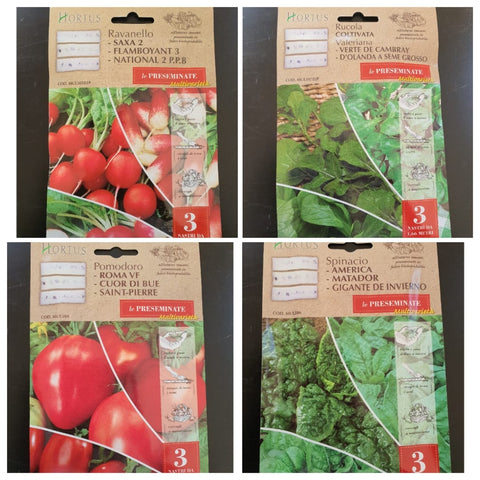 Seeds tape with mix 3 varieties