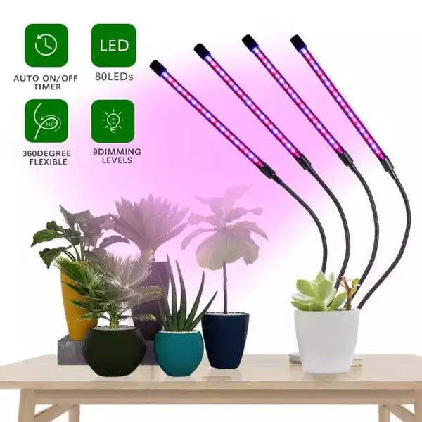 Led grow light clip