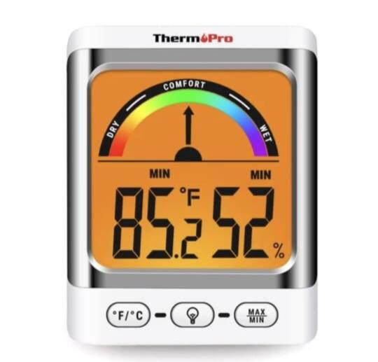 ThermoPro TP52 Digital Hygrometer Indoor Thermometer Temperature and Humidity