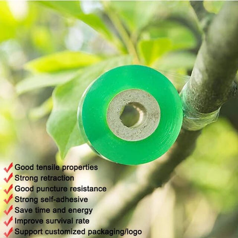 Grafting Film Tape Nursery Stretchable Gardening Tape Fruit Tree