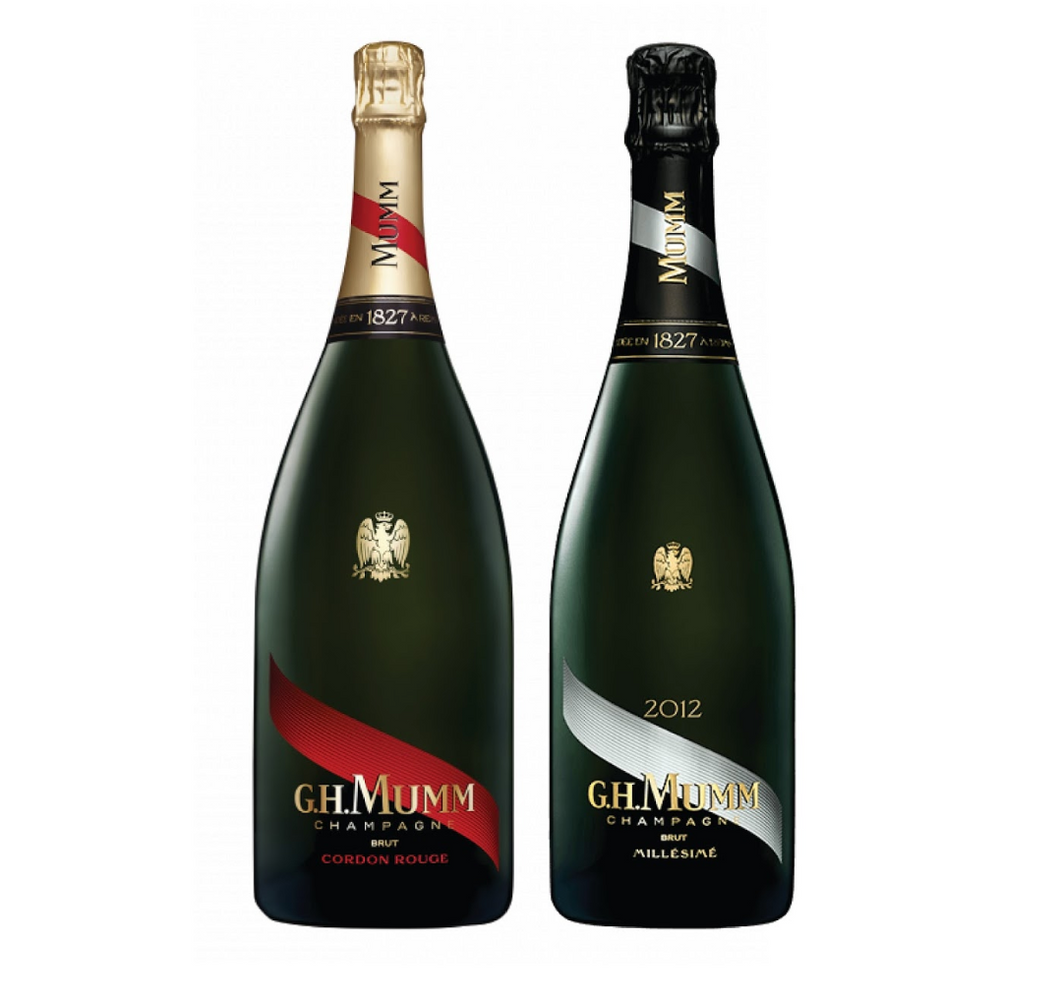 G.H. Mumm Virtual Tasting & Twin Champagne Box