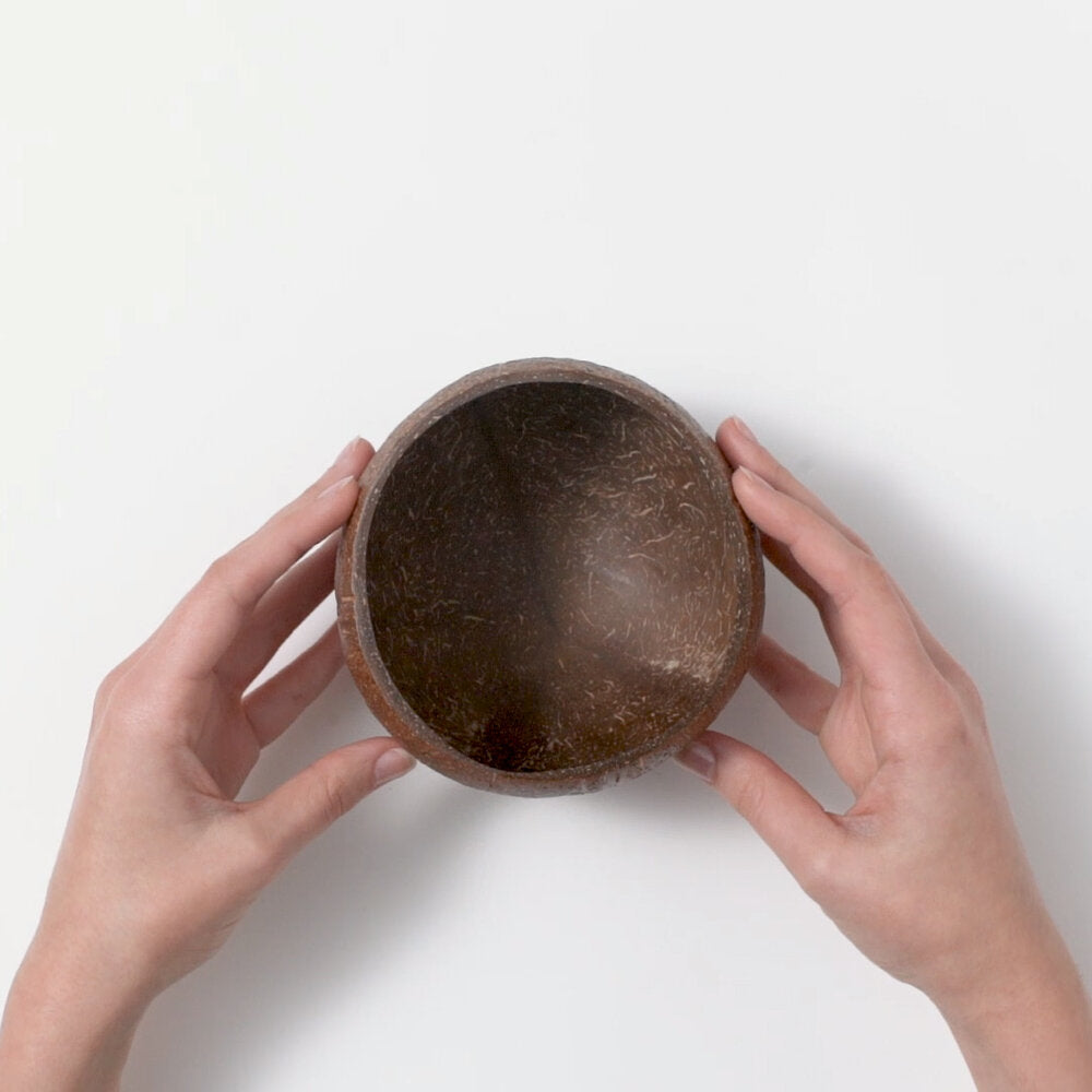 Coconut Bowl Made From Waste Shells