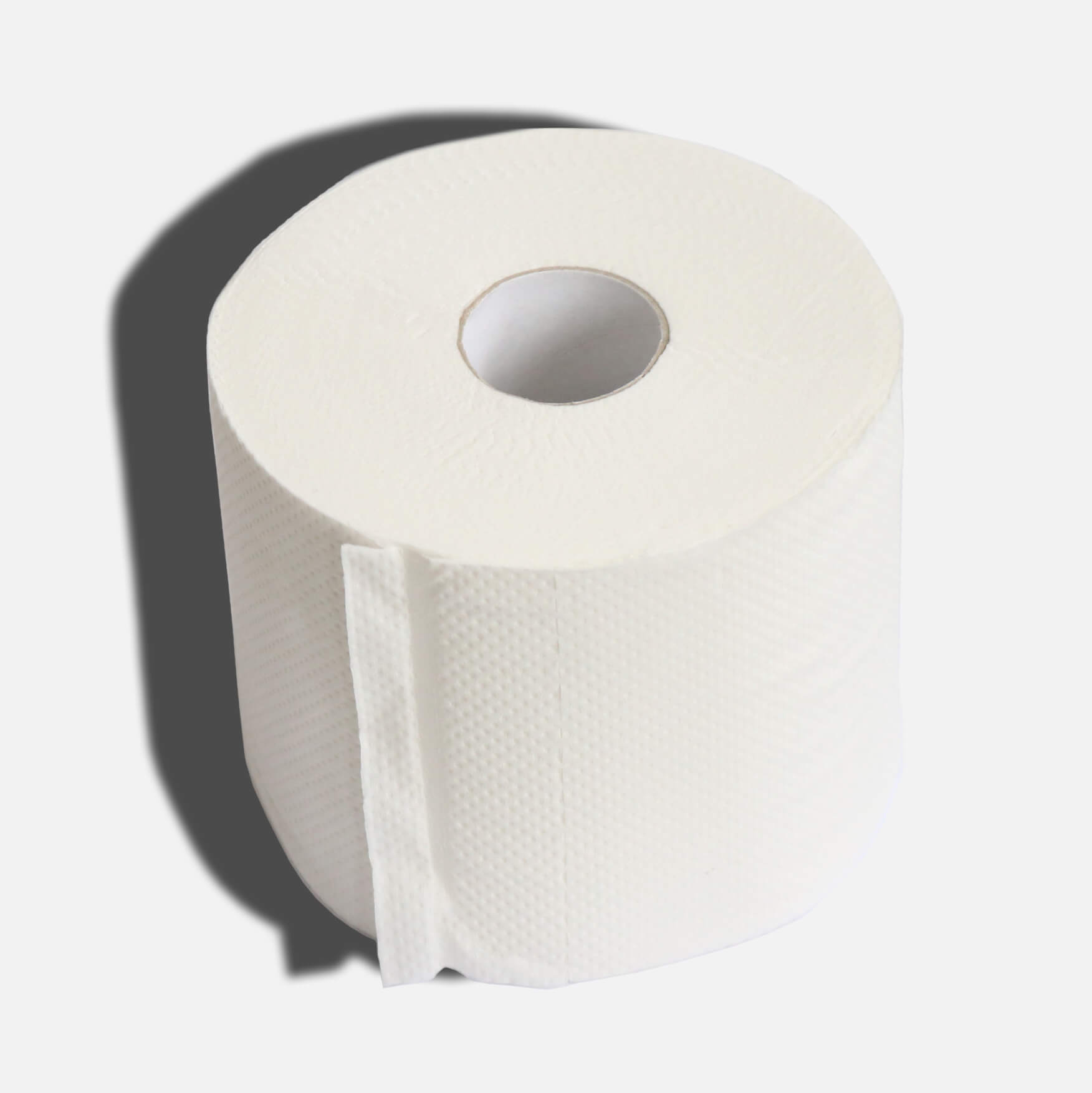100% Recycled Toilet Paper - Double Length Rolls - 3 Ply - 24 Naked Rolls