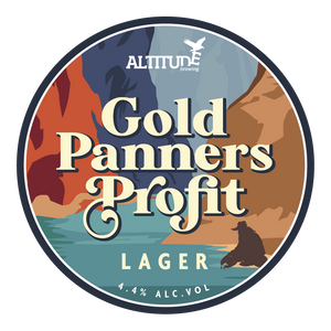 Goldpanners Profit Lager - 24x330ml Cans