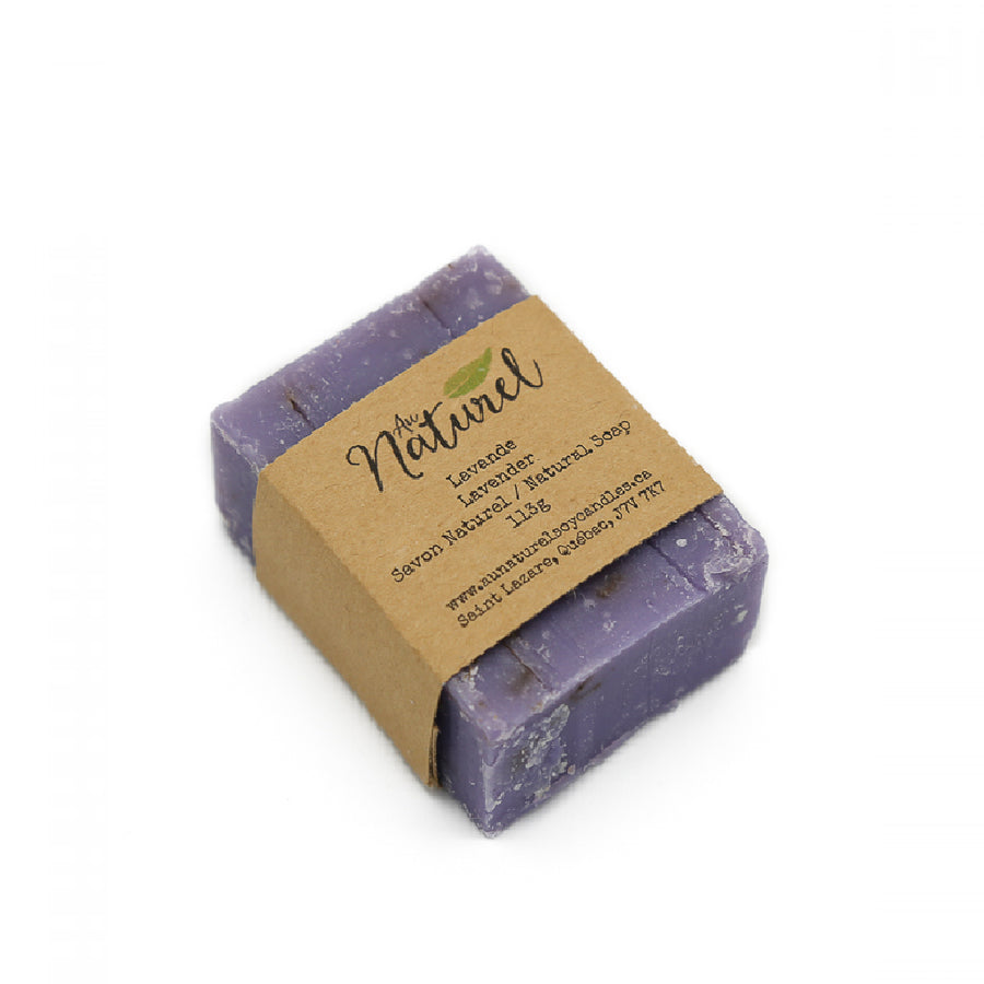 Natural Soap – Lavender and Exfoliating Sisal Soap Pouch