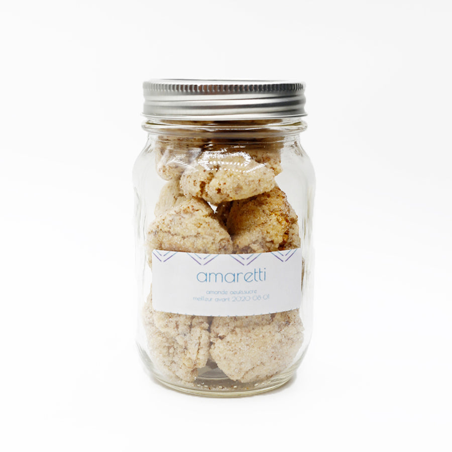 Jar of Amaretti Biscuits