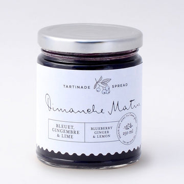 Blueberry, Ginger & Lime Spread