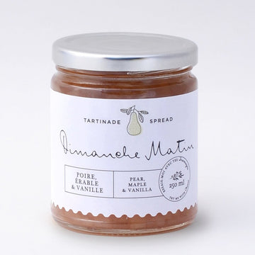 Pear, Maple & Vanilla Spread