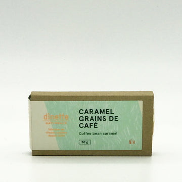 Soft Caramel and Coffee Beans Bar