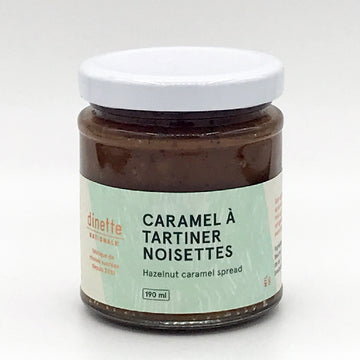 Caramel Spread Roasted Hazelnut
