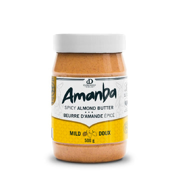 Amanba Spicy Almond Butter – Creamy