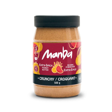 Manba Peanut Butter – Extra Spicy – Crunchy