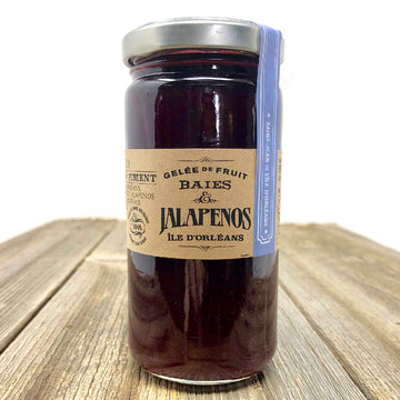 Raspberry Jalapeño Jelly