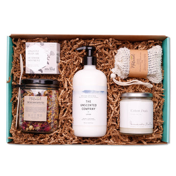 Cocooning gift box