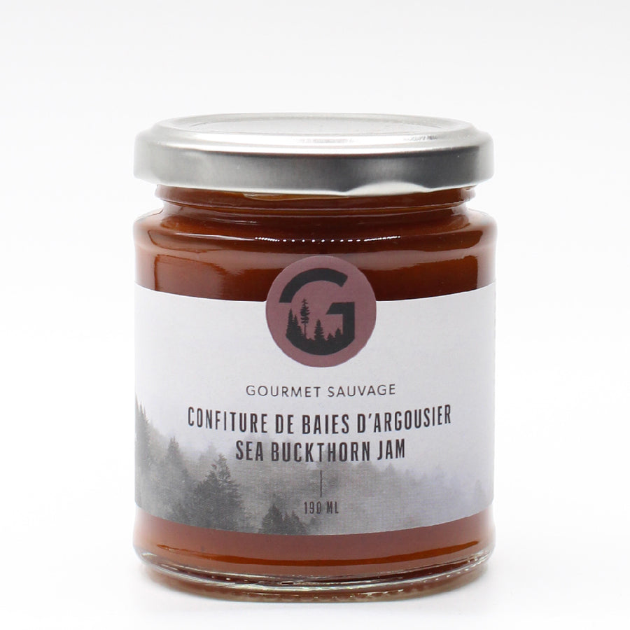 Confiture de baies d'argousier