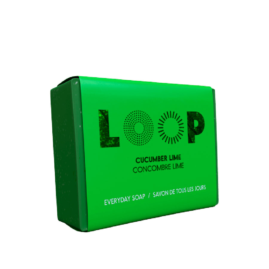 Savon LOOP <br>concombre lime