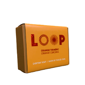 Savon LOOP <br>orange curcuma