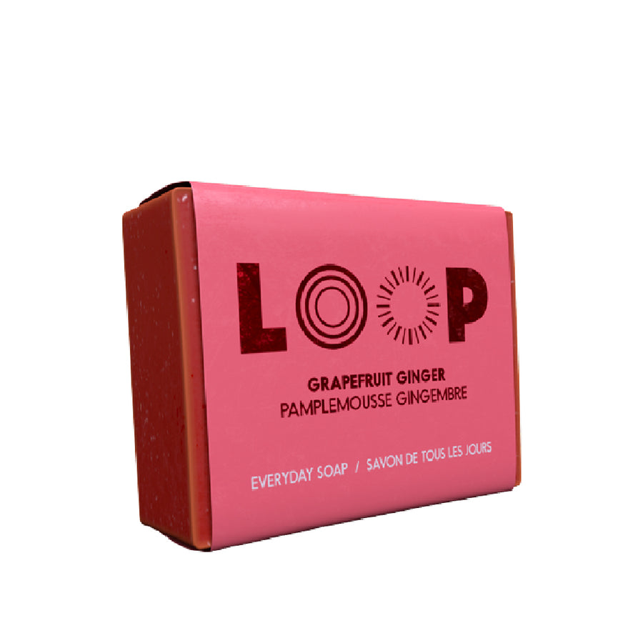 Savon LOOP <br>pamplemousse gingembre