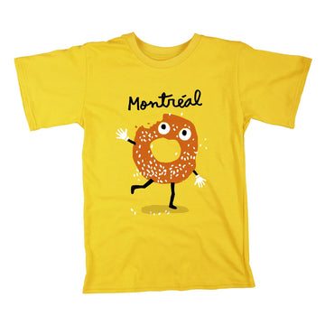 T-Shirt Bagel enfants