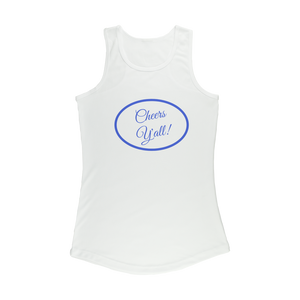 Cheers Y'all Women's Performance Tank Top