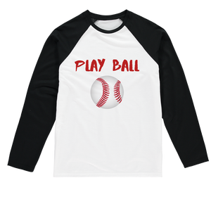 Play Ball 2 Play Ball! Baseball Long Sleeve Tee