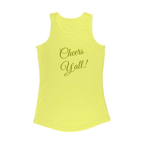 Cheers Y'all Cheers Y'all Women's Performance Tank Top