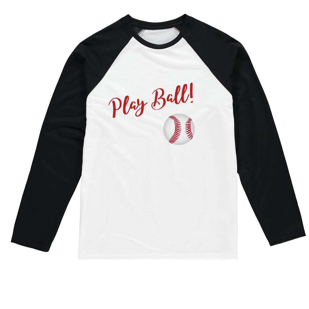 Play Ball! Play Ball! Baseball Long Sleeve Tee