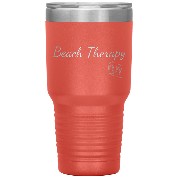 Custom Beach Therapy Tumbler